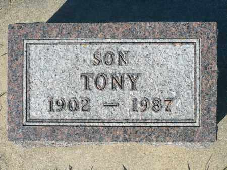 HUWE, TONY - Minnehaha County, South Dakota | TONY HUWE - South Dakota Gravestone Photos