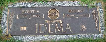 IDEMA, ESTHER - Minnehaha County, South Dakota | ESTHER IDEMA - South Dakota Gravestone Photos