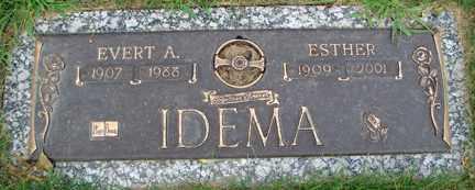 IDEMA, EVERT A. MD. - Minnehaha County, South Dakota | EVERT A. MD. IDEMA - South Dakota Gravestone Photos