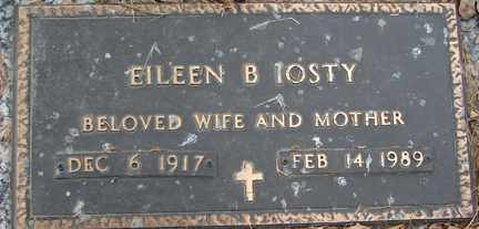 IOSTY, EILEEN B. - Minnehaha County, South Dakota | EILEEN B. IOSTY - South Dakota Gravestone Photos