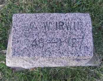 IRWIN, EVALINE - Minnehaha County, South Dakota | EVALINE IRWIN - South Dakota Gravestone Photos