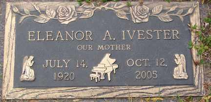 COWLES IVESTER, ELEANOR A. - Minnehaha County, South Dakota | ELEANOR A. COWLES IVESTER - South Dakota Gravestone Photos