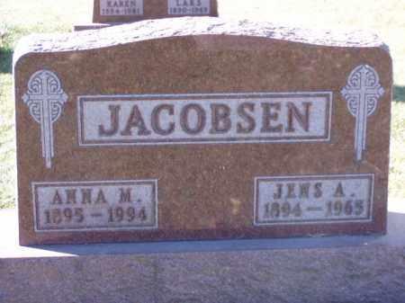 JACOBSEN, ANNA M. - Minnehaha County, South Dakota | ANNA M. JACOBSEN - South Dakota Gravestone Photos