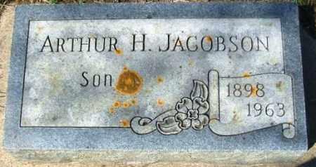 JACOBSON, ARTHUR H. - Minnehaha County, South Dakota | ARTHUR H. JACOBSON - South Dakota Gravestone Photos