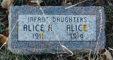 JACOBSON, ALICE A. - Minnehaha County, South Dakota | ALICE A. JACOBSON - South Dakota Gravestone Photos