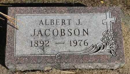 JACOBSON, ALBERT J. - Minnehaha County, South Dakota | ALBERT J. JACOBSON - South Dakota Gravestone Photos