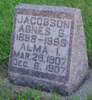 JACOBSON, ALMA I. - Minnehaha County, South Dakota | ALMA I. JACOBSON - South Dakota Gravestone Photos