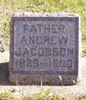 JACOBSON, ANDREW - Minnehaha County, South Dakota | ANDREW JACOBSON - South Dakota Gravestone Photos