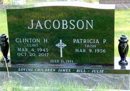 JACOBSON, PATRICIA P. - Minnehaha County, South Dakota | PATRICIA P. JACOBSON - South Dakota Gravestone Photos