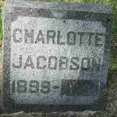 JACOBSON, CHARLOTTE - Minnehaha County, South Dakota | CHARLOTTE JACOBSON - South Dakota Gravestone Photos