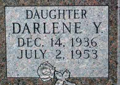 JACOBSON, DARLENE Y. (CLOSE UP) - Minnehaha County, South Dakota | DARLENE Y. (CLOSE UP) JACOBSON - South Dakota Gravestone Photos