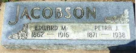 JACOBSON, PETRA J. - Minnehaha County, South Dakota | PETRA J. JACOBSON - South Dakota Gravestone Photos
