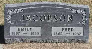 JACOBSON, EMILY - Minnehaha County, South Dakota | EMILY JACOBSON - South Dakota Gravestone Photos