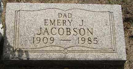 JACOBSON, EMERY J. - Minnehaha County, South Dakota   EMERY J. JACOBSON - South Dakota Gravestone Photos