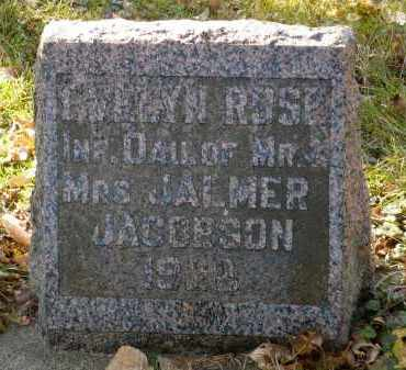 JACOBSON, EVELYN ROSE - Minnehaha County, South Dakota | EVELYN ROSE JACOBSON - South Dakota Gravestone Photos