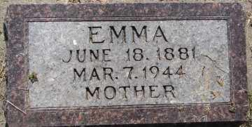 JACOBSON, EMMA - Minnehaha County, South Dakota | EMMA JACOBSON - South Dakota Gravestone Photos