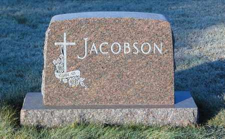 JACOBSON, FAMILY STONE - Minnehaha County, South Dakota | FAMILY STONE JACOBSON - South Dakota Gravestone Photos
