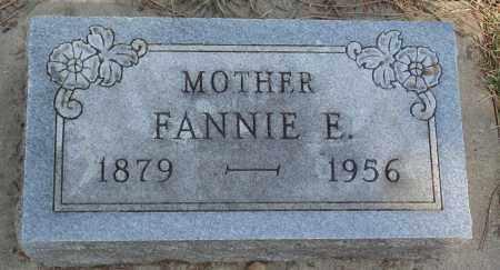 JACOBSON, FANNIE E. - Minnehaha County, South Dakota | FANNIE E. JACOBSON - South Dakota Gravestone Photos