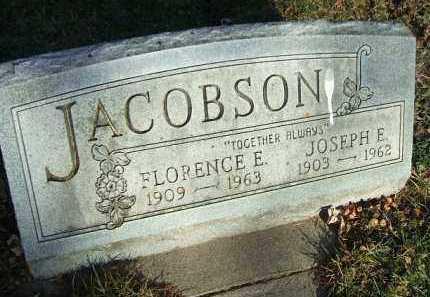 JACOBSON, FLORENCE E. - Minnehaha County, South Dakota | FLORENCE E. JACOBSON - South Dakota Gravestone Photos