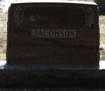 JACOBSON, FAMILY MARKER - Minnehaha County, South Dakota   FAMILY MARKER JACOBSON - South Dakota Gravestone Photos