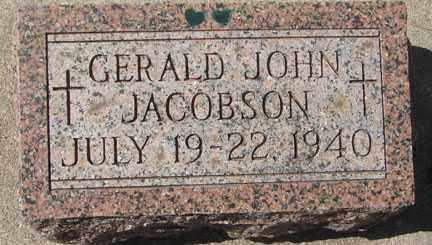 JACOBSON, GERALD JOHN - Minnehaha County, South Dakota | GERALD JOHN JACOBSON - South Dakota Gravestone Photos