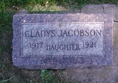 JACOBSON, GLADYS - Minnehaha County, South Dakota   GLADYS JACOBSON - South Dakota Gravestone Photos