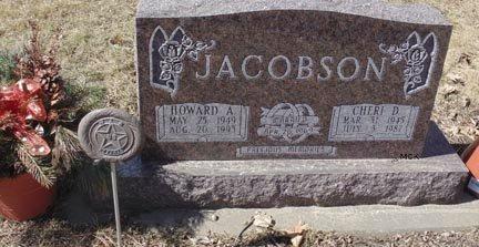 JACOBSON, CHERI D. - Minnehaha County, South Dakota | CHERI D. JACOBSON - South Dakota Gravestone Photos