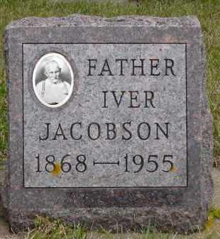 JACOBSON, IVER - Minnehaha County, South Dakota   IVER JACOBSON - South Dakota Gravestone Photos