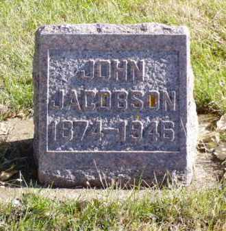 JACOBSON, JOHN - Minnehaha County, South Dakota | JOHN JACOBSON - South Dakota Gravestone Photos