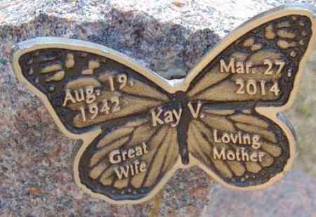 JACOBSON, KAY V. - Minnehaha County, South Dakota   KAY V. JACOBSON - South Dakota Gravestone Photos