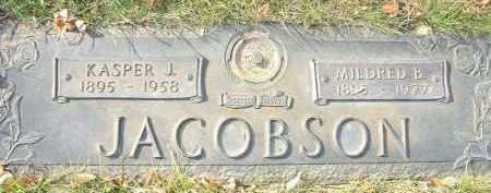 JACOBSON, MILDRED B. - Minnehaha County, South Dakota   MILDRED B. JACOBSON - South Dakota Gravestone Photos