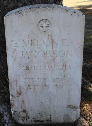 JACOBSON, MELVIN E. (WWI) - Minnehaha County, South Dakota | MELVIN E. (WWI) JACOBSON - South Dakota Gravestone Photos