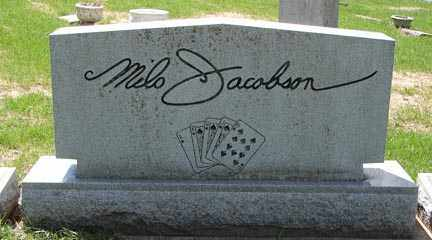 JACOBSON, MILO - Minnehaha County, South Dakota   MILO JACOBSON - South Dakota Gravestone Photos