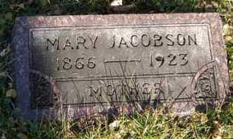 JACOBSON, MARY - Minnehaha County, South Dakota | MARY JACOBSON - South Dakota Gravestone Photos