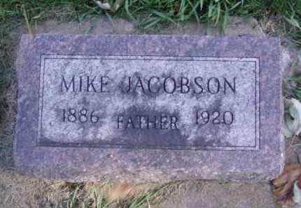 JACOBSON, MIKE - Minnehaha County, South Dakota | MIKE JACOBSON - South Dakota Gravestone Photos