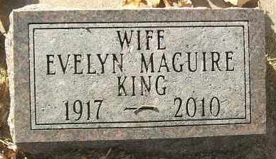 JOHNSON KING, EVELYN MAE - Minnehaha County, South Dakota | EVELYN MAE JOHNSON KING - South Dakota Gravestone Photos