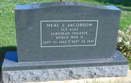 JACOBSON, NEAL L. - Minnehaha County, South Dakota | NEAL L. JACOBSON - South Dakota Gravestone Photos
