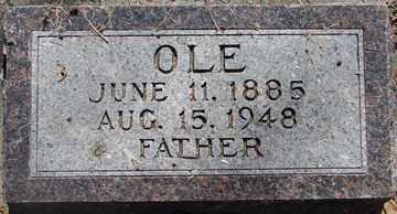 JACOBSON, OLE - Minnehaha County, South Dakota | OLE JACOBSON - South Dakota Gravestone Photos
