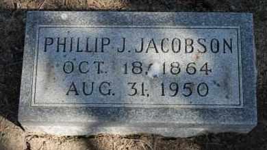 JACOBSON, PHILLIP J. - Minnehaha County, South Dakota   PHILLIP J. JACOBSON - South Dakota Gravestone Photos
