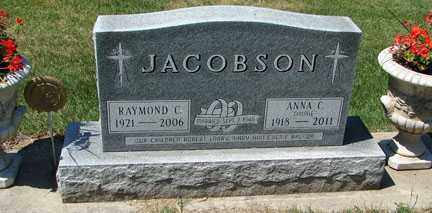 JACOBSON, RAYMOND C. - Minnehaha County, South Dakota | RAYMOND C. JACOBSON - South Dakota Gravestone Photos
