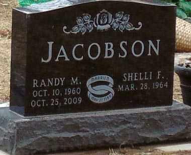 JACOBSON, RANDY M. - Minnehaha County, South Dakota | RANDY M. JACOBSON - South Dakota Gravestone Photos