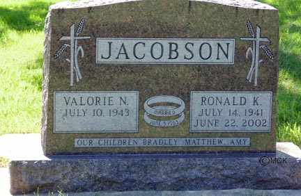 JACOBSON, VALORIE N. - Minnehaha County, South Dakota | VALORIE N. JACOBSON - South Dakota Gravestone Photos