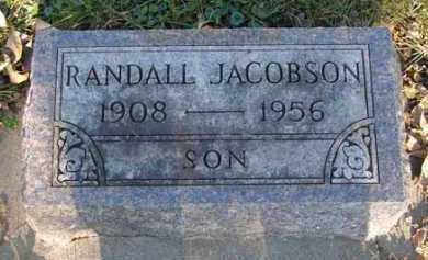 JACOBSON, RANDALL - Minnehaha County, South Dakota | RANDALL JACOBSON - South Dakota Gravestone Photos