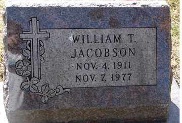 JACOBSON, WILLIAM T. - Minnehaha County, South Dakota | WILLIAM T. JACOBSON - South Dakota Gravestone Photos