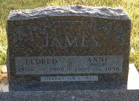 OAKLEAF JAMES, ANNE - Minnehaha County, South Dakota | ANNE OAKLEAF JAMES - South Dakota Gravestone Photos