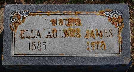 AULWES JAMES, ELLA - Minnehaha County, South Dakota | ELLA AULWES JAMES - South Dakota Gravestone Photos