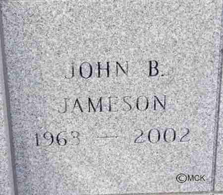 JAMESON, JOHN B. - Minnehaha County, South Dakota | JOHN B. JAMESON - South Dakota Gravestone Photos