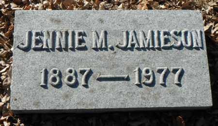 JAMIESON, JENNIE MAY - Minnehaha County, South Dakota | JENNIE MAY JAMIESON - South Dakota Gravestone Photos
