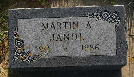 JANDL, MARTIN A. - Minnehaha County, South Dakota   MARTIN A. JANDL - South Dakota Gravestone Photos