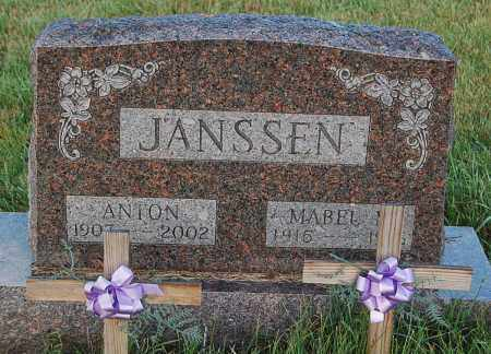 JANSSEN, ANTON - Minnehaha County, South Dakota | ANTON JANSSEN - South Dakota Gravestone Photos